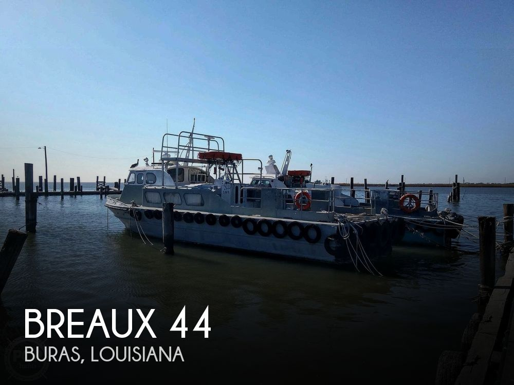 Used Power boats For Sale in Louisiana by owner   1978 Breaux Breaux Bay Craft 44