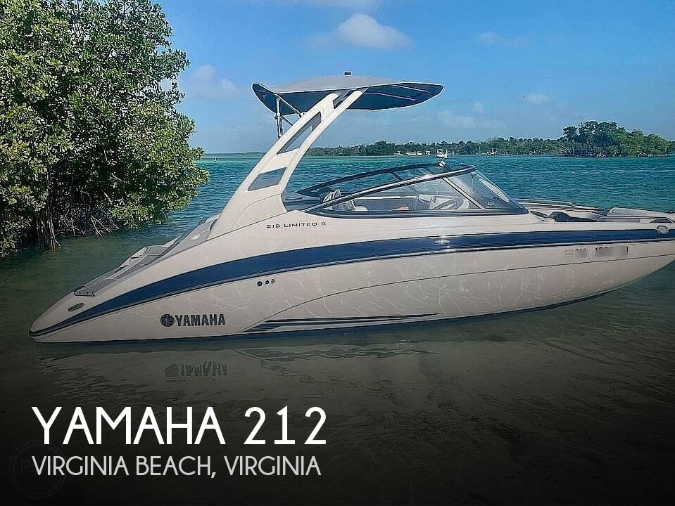 2019 Yamaha boat for sale, model of the boat is 212 Limited S & Image # 1 of 8
