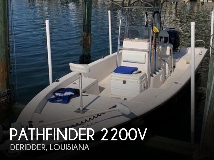 Used Pathfinder Boats For Sale by owner   2004 Pathfinder 2200v