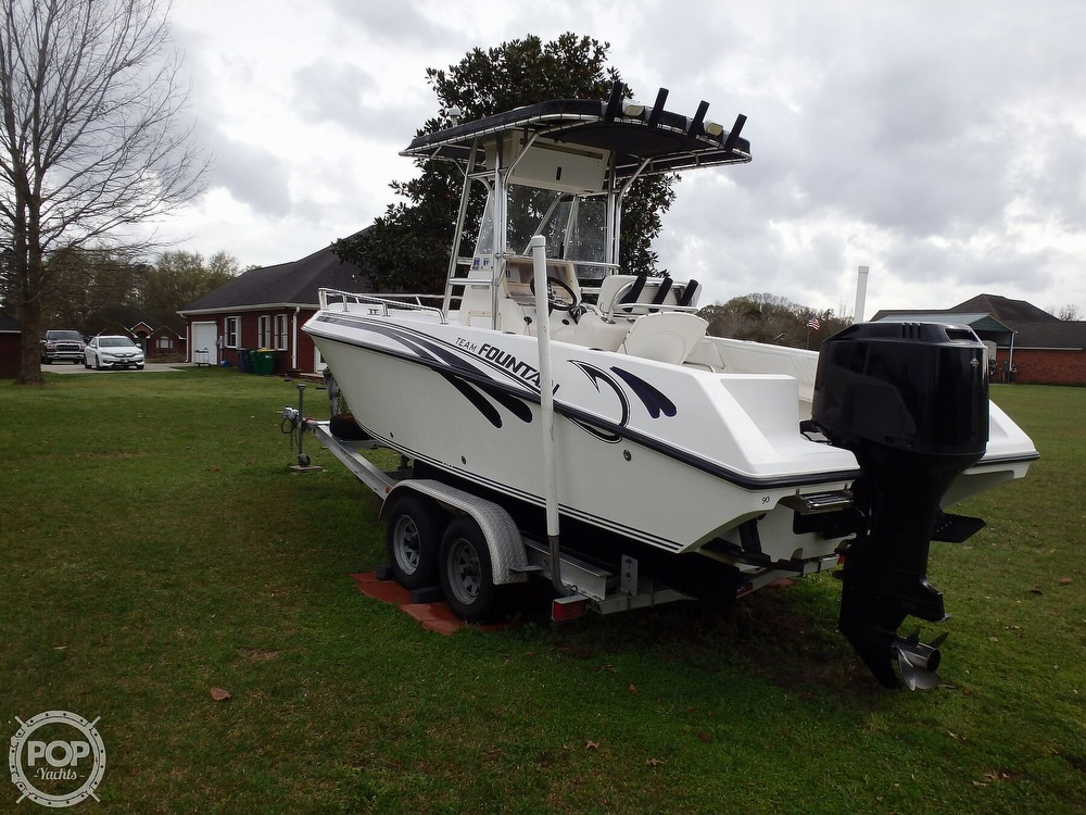 2002 Fountain boat for sale, model of the boat is 23FX & Image # 3 of 40