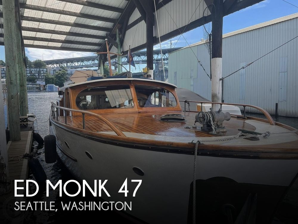 1950 Ed Monk boat for sale, model of the boat is 47 & Image # 1 of 40