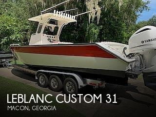 Used Boats For Sale in Georgia by owner | 2004 Leblanc Boat Works Custom 31