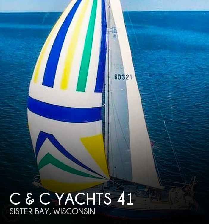1988 C & C boat for sale, model of the boat is 41 Wing Keel & Image # 1 of 21