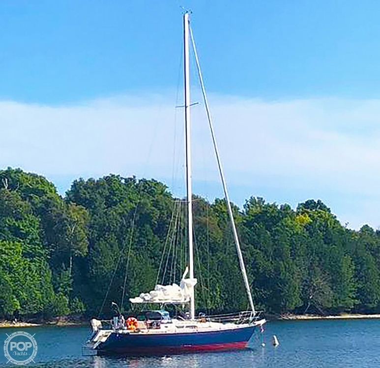 1988 C & C boat for sale, model of the boat is 41 Wing Keel & Image # 2 of 21