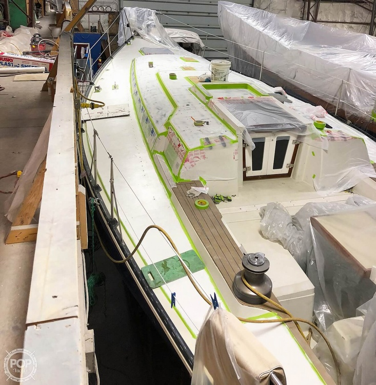1988 C & C boat for sale, model of the boat is 41 Wing Keel & Image # 8 of 21