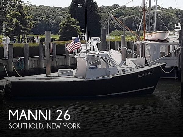 1981 Manni boat for sale, model of the boat is 26 & Image # 1 of 40