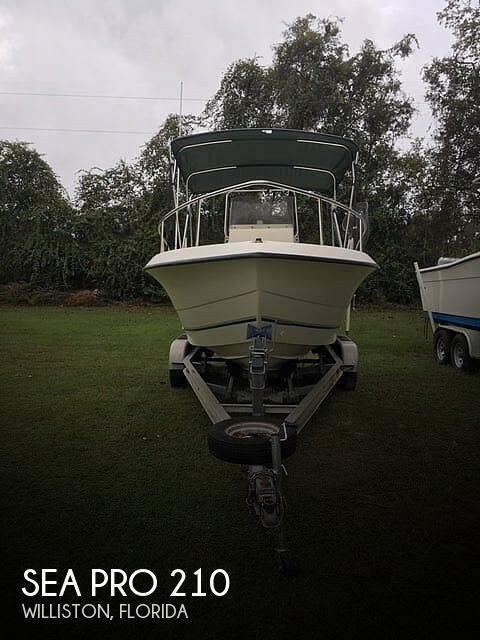 1999 Sea Pro boat for sale, model of the boat is 210 & Image # 1 of 40