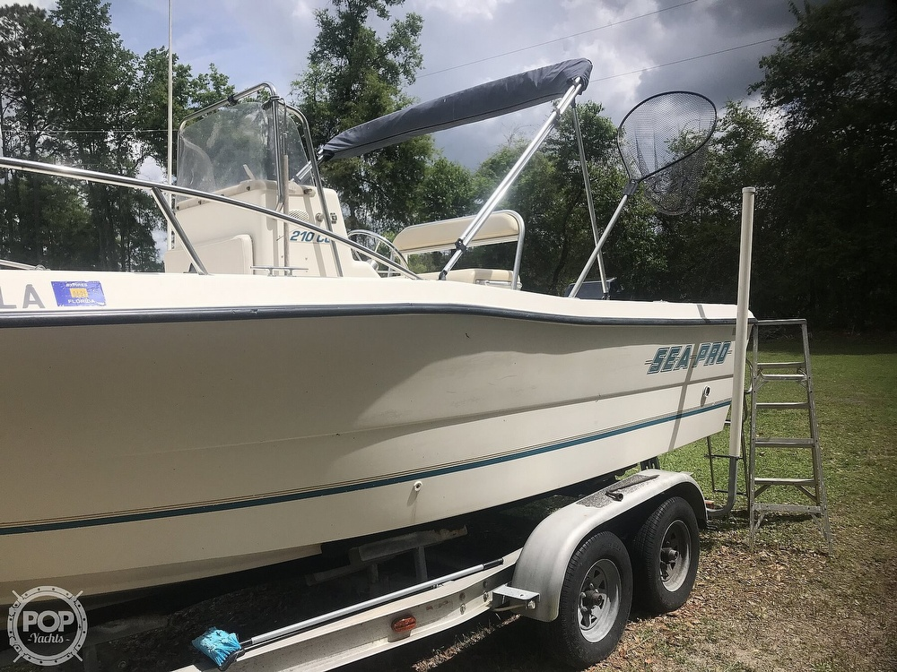 1999 Sea Pro boat for sale, model of the boat is 210 & Image # 5 of 40