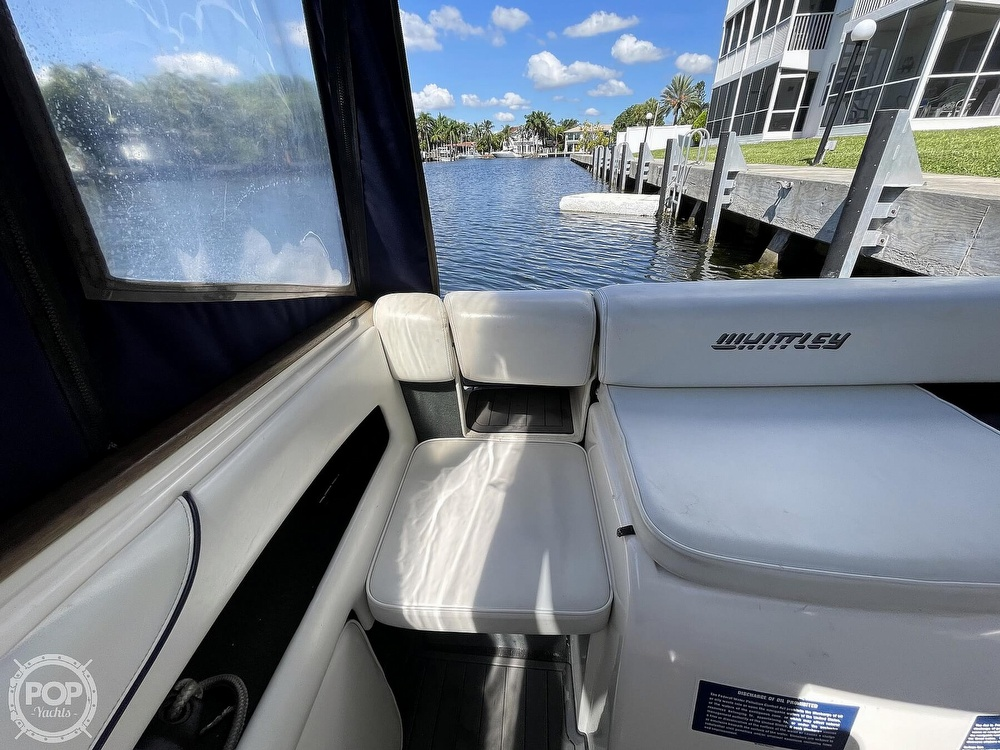 2006 Whittley boat for sale, model of the boat is 2590 CR & Image # 22 of 40