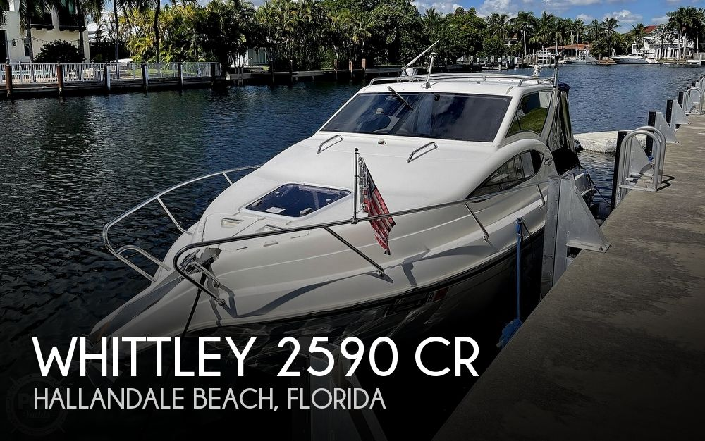 2006 Whittley boat for sale, model of the boat is 2590 CR & Image # 1 of 40