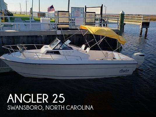 Used Angler Boats For Sale by owner | 1995 Angler 25