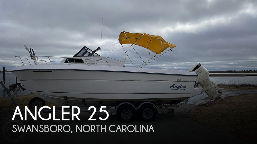 1995 American Angler boat for sale, model of the boat is 25 & Image # 1 of 40