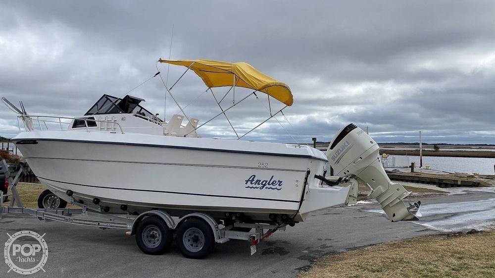 1995 American Angler boat for sale, model of the boat is 25 & Image # 2 of 40