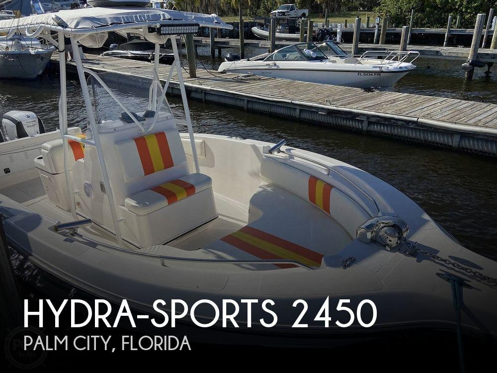 1997 HYDRA SPORTS 2450 CC for sale