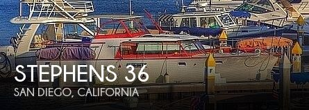 1960 Stephens Brothers boat for sale, model of the boat is 36 Flush Deck Motoryacht & Image # 1 of 25