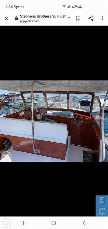 1960 Stephens Brothers boat for sale, model of the boat is 36 Flush Deck Motoryacht & Image # 12 of 25
