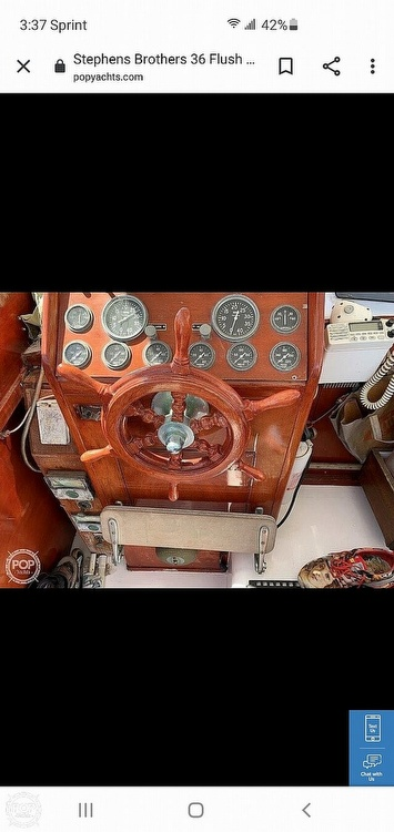 1960 Stephens Brothers boat for sale, model of the boat is 36 Flush Deck Motoryacht & Image # 20 of 25