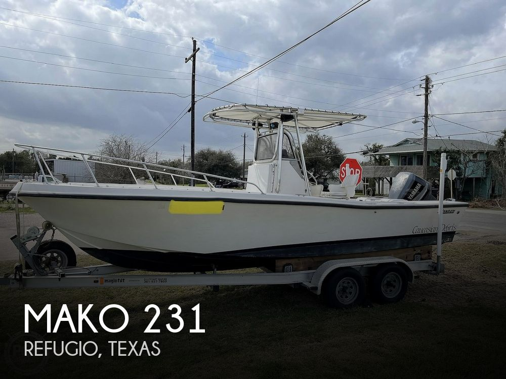 1986 Mako boat for sale, model of the boat is 231 & Image # 1 of 40