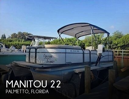 Used Manitou Pontoon Boats For Sale by owner | 2017 Manitou Aurora LE 22
