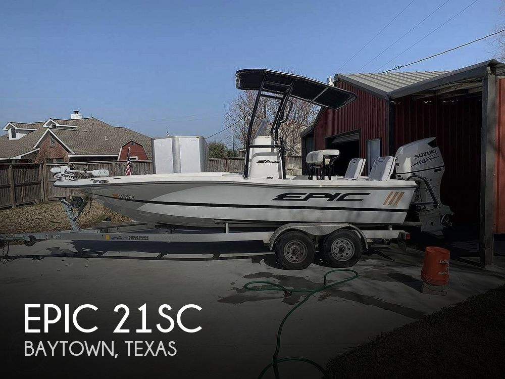 Used Epic Boats For Sale by owner | 2016 Epic 21sc