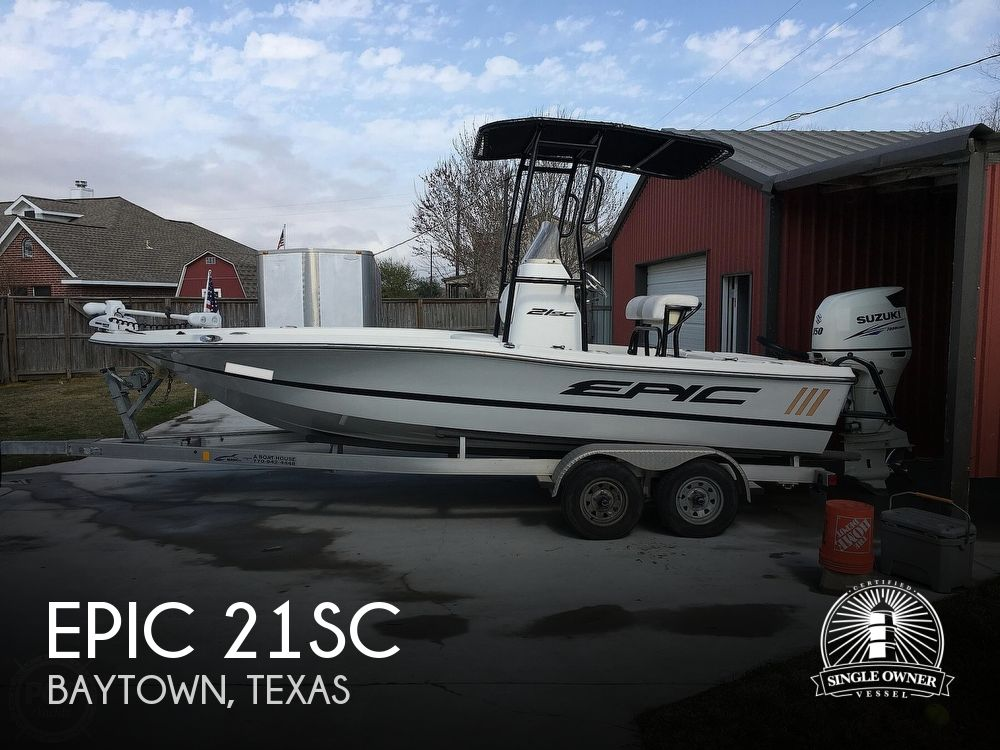 2016 Epic boat for sale, model of the boat is 21SC & Image # 1 of 40