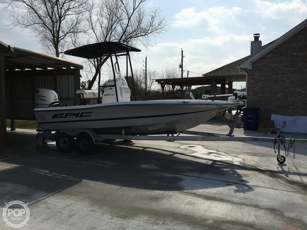 2016 Epic boat for sale, model of the boat is 21SC & Image # 4 of 40