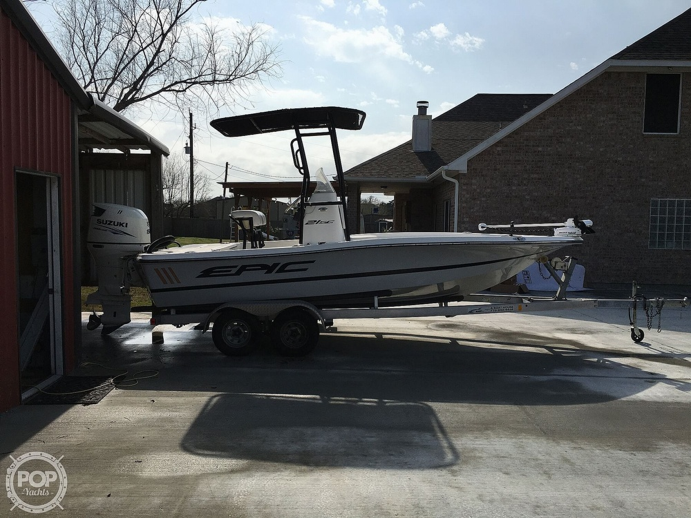 2016 Epic boat for sale, model of the boat is 21SC & Image # 16 of 40