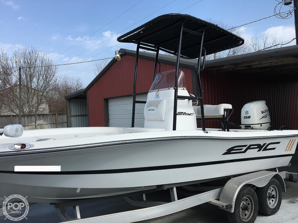 2016 Epic boat for sale, model of the boat is 21SC & Image # 12 of 40