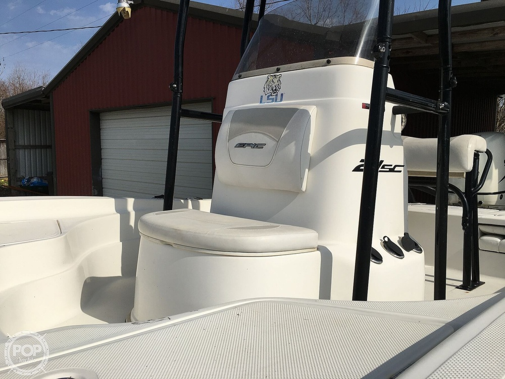 2016 Epic boat for sale, model of the boat is 21SC & Image # 13 of 40