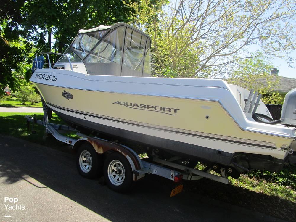 2002 Aquasport boat for sale, model of the boat is Explorer 250 & Image # 10 of 40