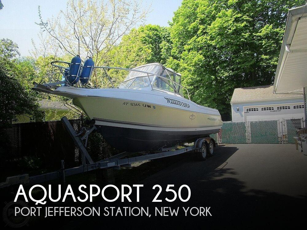 2002 Aquasport boat for sale, model of the boat is Explorer 250 & Image # 1 of 40