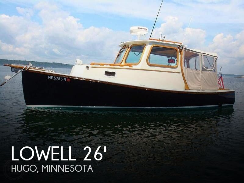 Used Lowe Boats For Sale by owner | 1968 26 foot Lowell Lobster Yacht