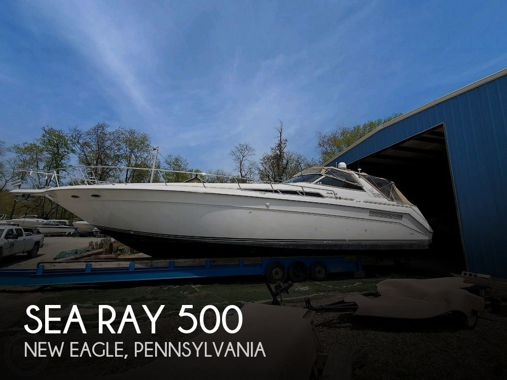 1992 Sea Ray boat for sale, model of the boat is 500 Sundancer & Image # 1 of 40