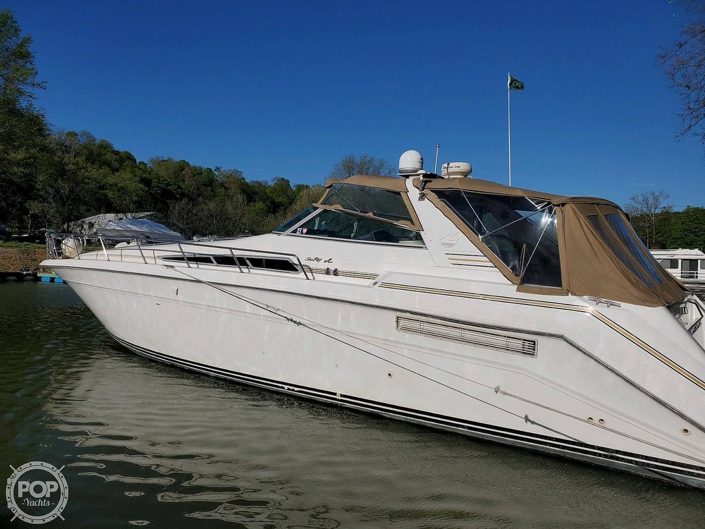 1992 Sea Ray boat for sale, model of the boat is 500 Sundancer & Image # 5 of 40