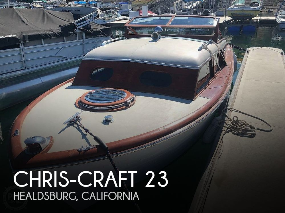 Used Chris-Craft Boats For Sale in California by owner | 1954 Chris-Craft 23