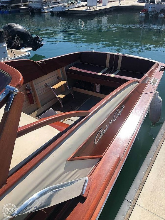 1954 Chris Craft boat for sale, model of the boat is 23 & Image # 6 of 15