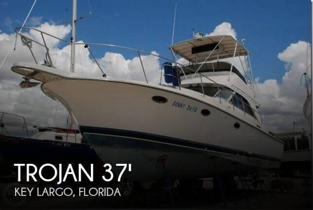 1985 Trojan 37 SF (11 Meter - Dive Boat) - Photo #1