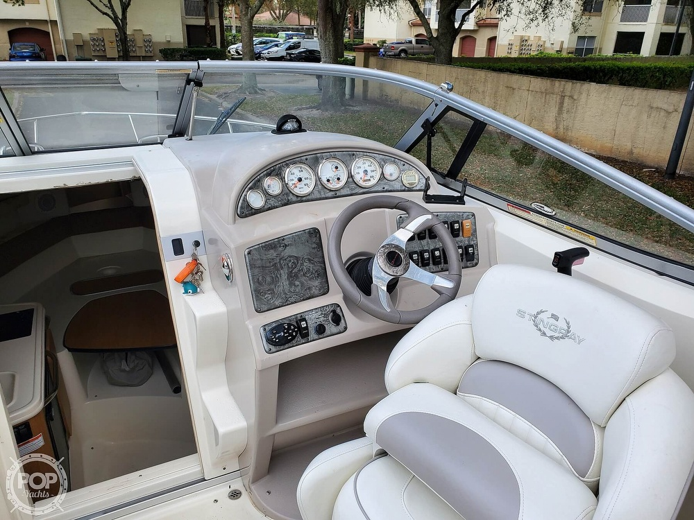 2007 Stingray boat for sale, model of the boat is 250 CS & Image # 21 of 40