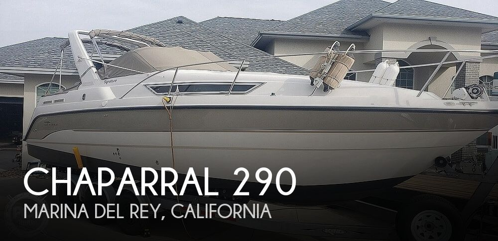 1997 Chaparral boat for sale, model of the boat is Signature 290 & Image # 1 of 40