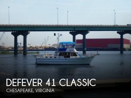 1983 DEFEVER 41 CLASSIC for sale