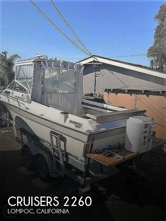 1988 CRUISERS YACHTS BARNEGAT 2260 for sale