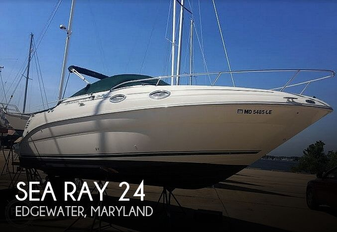 Used Sea Ray Boats For Sale in Salisbury, Maryland by owner | 2001 Sea Ray 24