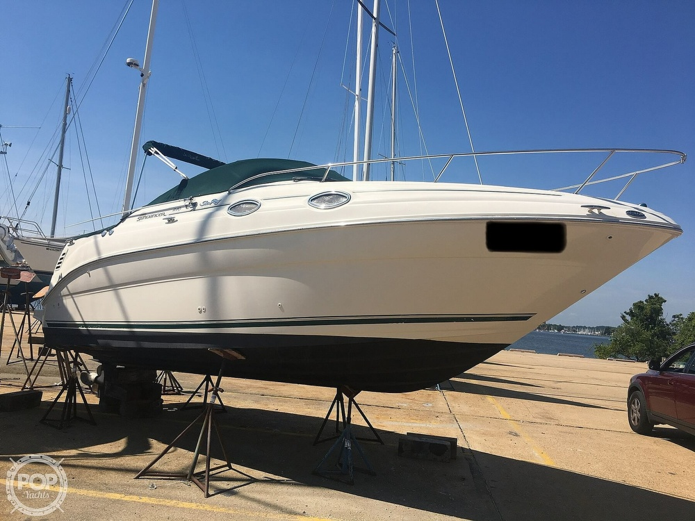 2001 Sea Ray boat for sale, model of the boat is 240 Sundancer & Image # 10 of 40