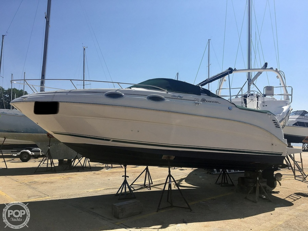 2001 Sea Ray boat for sale, model of the boat is 240 Sundancer & Image # 12 of 40