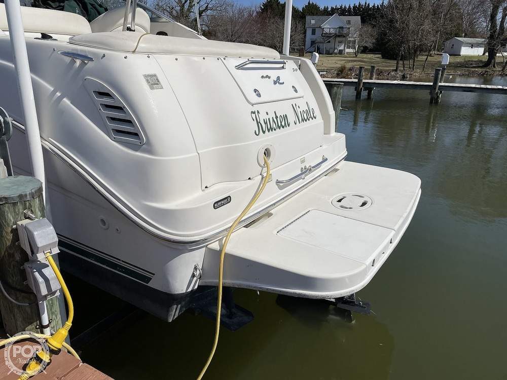 2001 Sea Ray boat for sale, model of the boat is 240 Sundancer & Image # 15 of 40