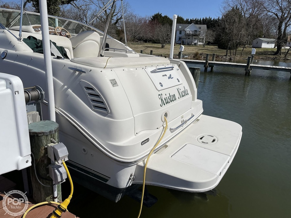 2001 Sea Ray boat for sale, model of the boat is 240 Sundancer & Image # 17 of 40
