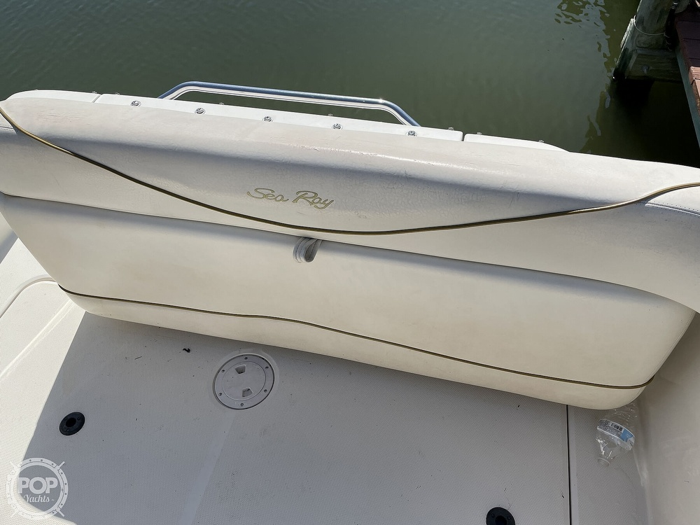 2001 Sea Ray boat for sale, model of the boat is 240 Sundancer & Image # 26 of 40