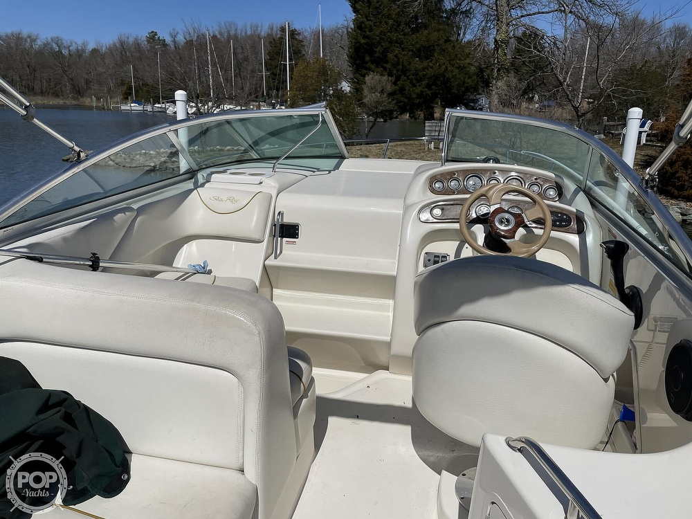 2001 Sea Ray boat for sale, model of the boat is 240 Sundancer & Image # 8 of 40