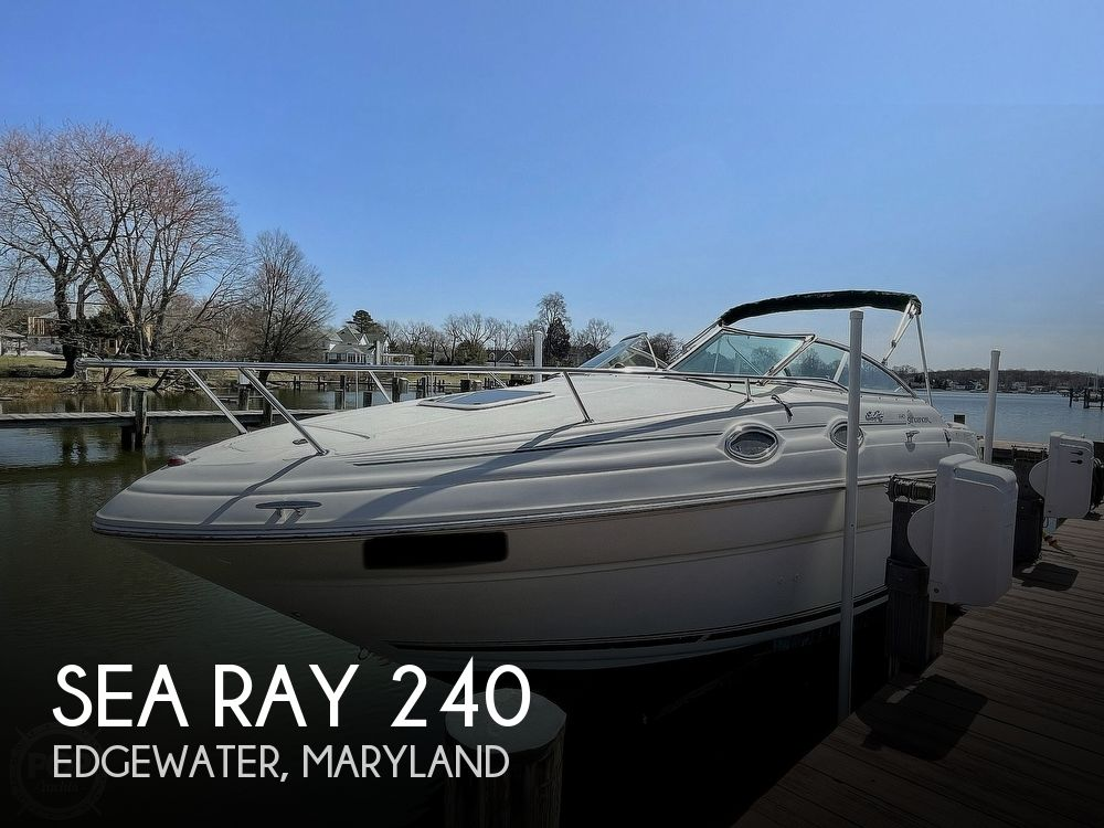 2001 Sea Ray boat for sale, model of the boat is 240 Sundancer & Image # 1 of 40