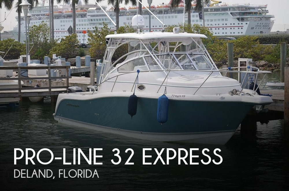 Used Boats For Sale in Orlando, Florida by owner | 2007 Pro-Line 32 Express